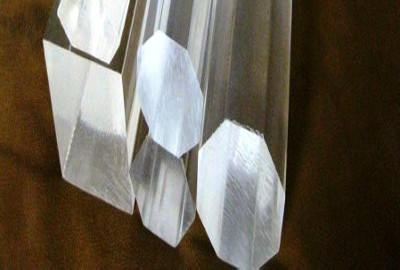 Barre ottagonali in acrilico