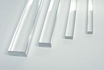 Barre quadrate in acrilico
