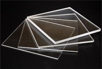 Lastre trasparenti colate in acrilico