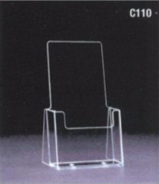 Porta brochure e cataloghi in plexiglass